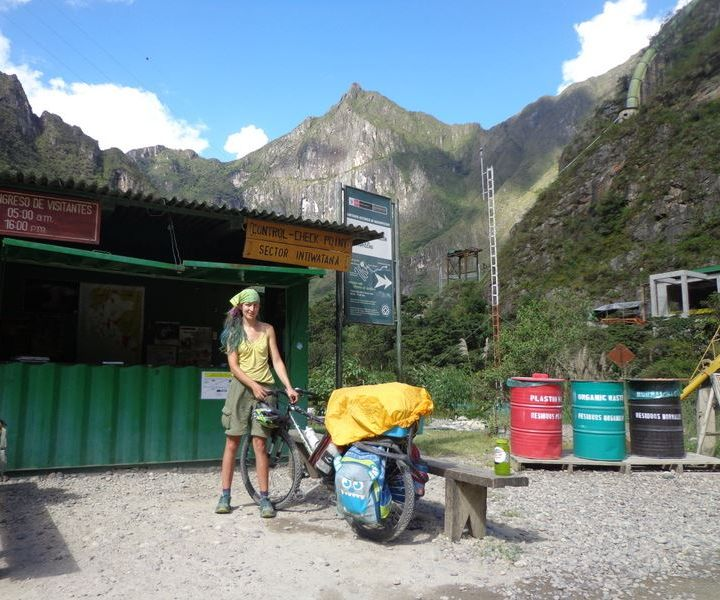 Easy Bicycle Panniers in a Developing Country