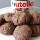 3-Ingredient Nutella Cookies