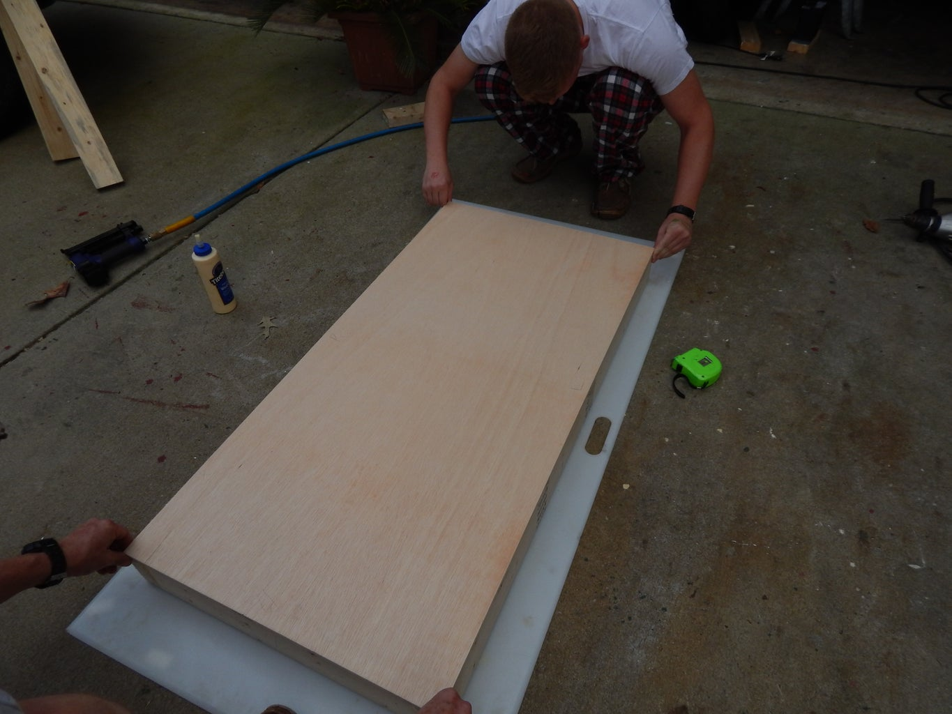Attaching the Deck