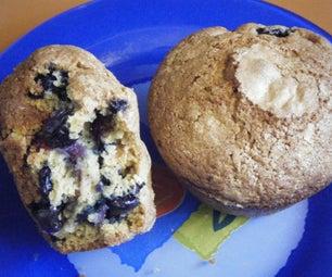 Cranberry-Blueberry Pumpkin Muffins (High Altitude)