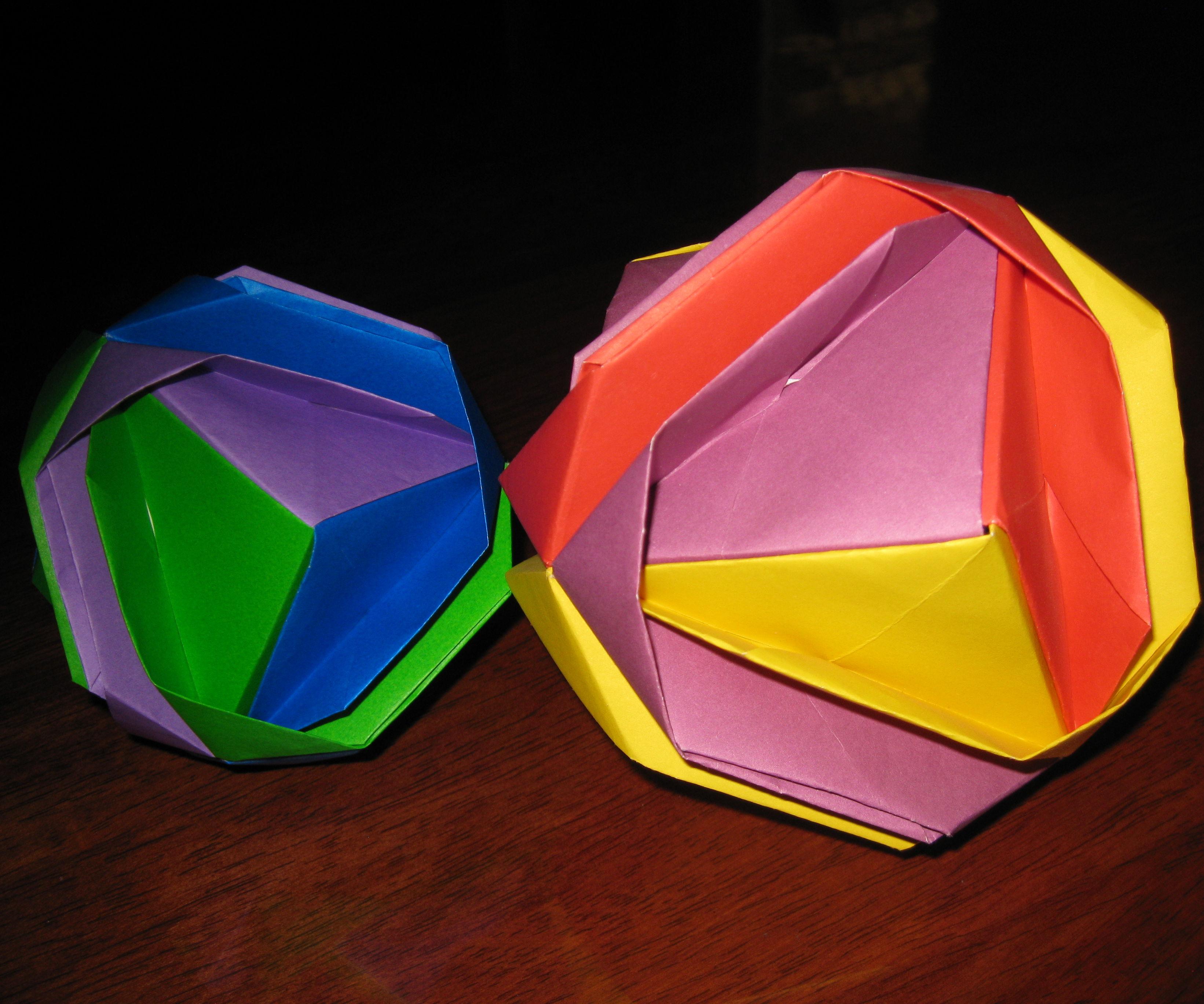 Geometric Origami - Japanese Brocade