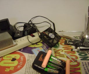 Dorm Power Station/Souped Up NiMH Charging Station