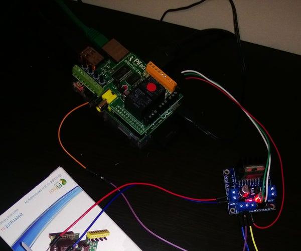 Raspberry PiFace L298N Bi-Directional DC Motor Control
