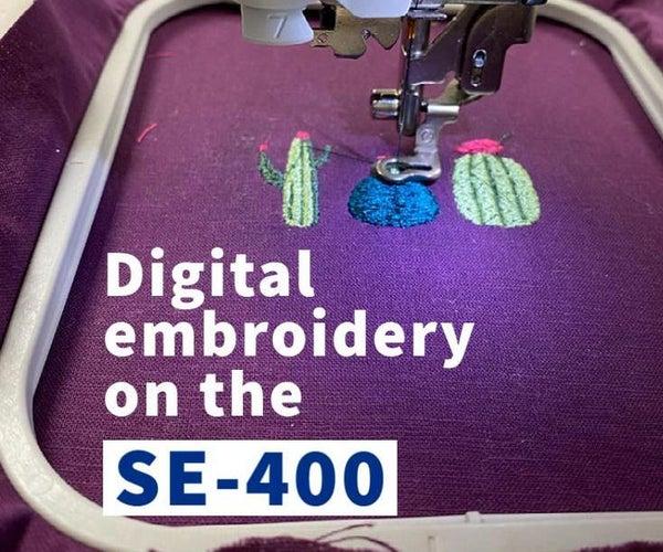 Digital Embroidery Machine Setup