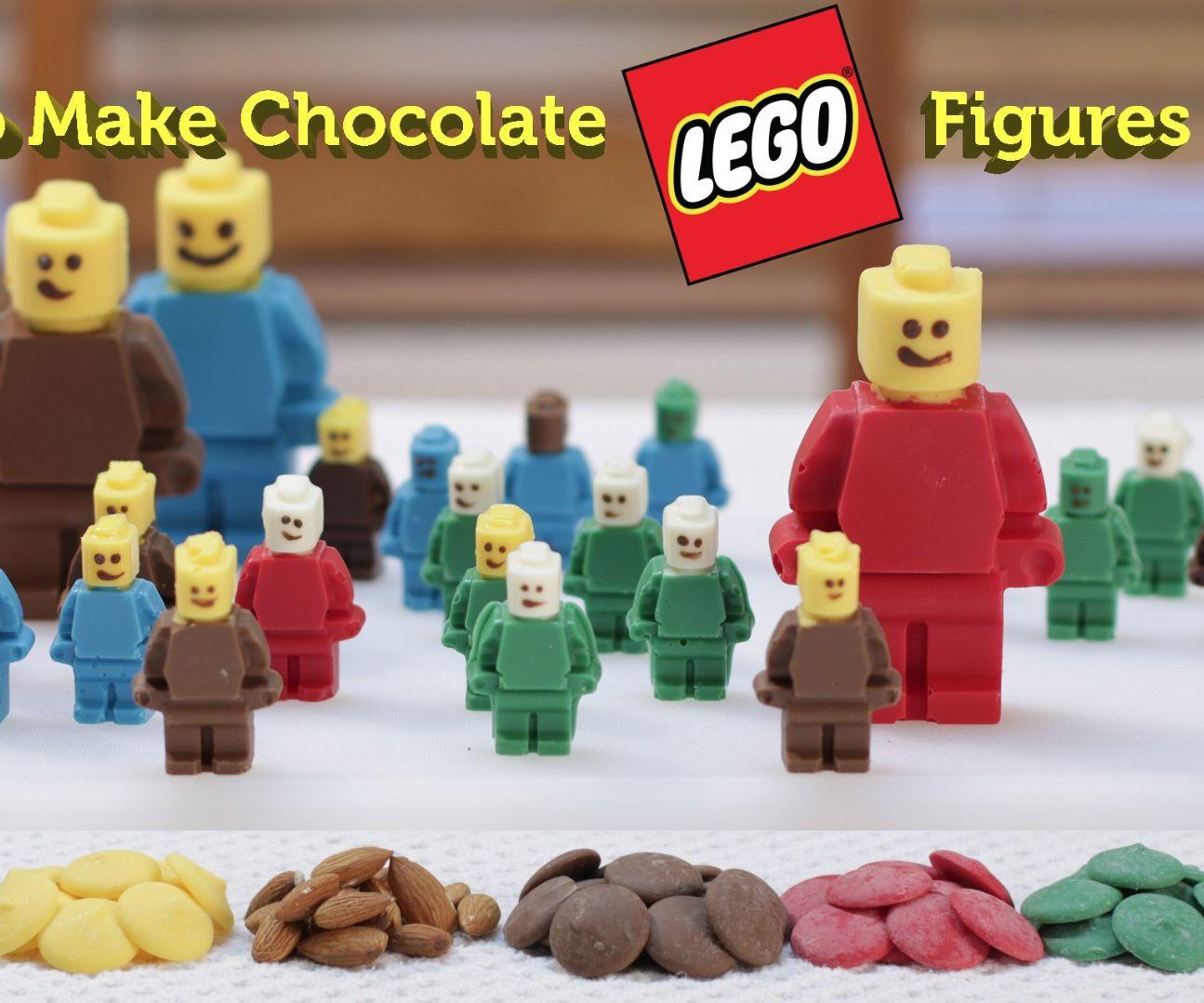 Chocolate Lego Figures