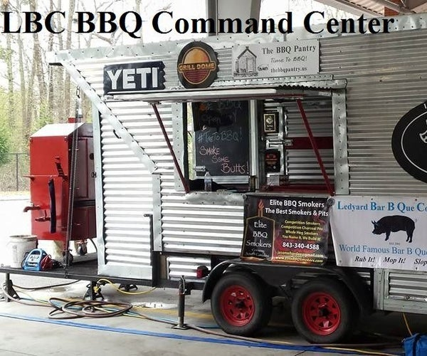 Building a Competition BBQ Trailer or Food Vending Trailer
