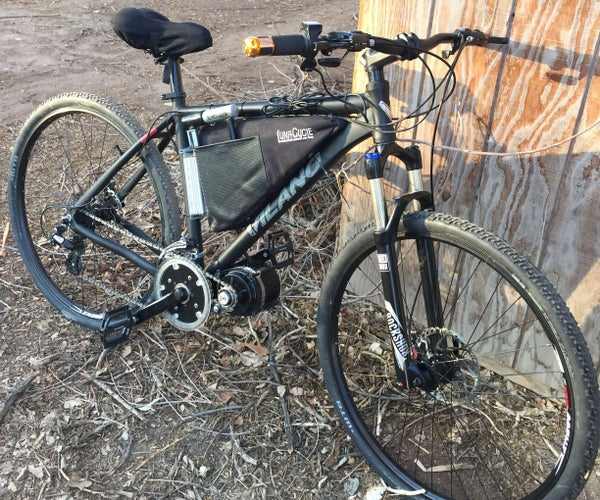 50+ Mph E-Bike