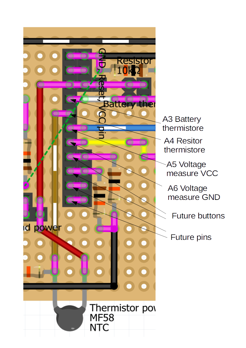 Board: Thermistor and Measuring Voltage