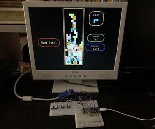 ESP32 VGA Tetris