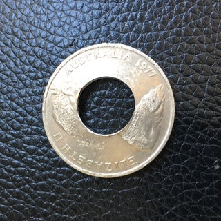 How to Make a Coin Ring From a Quarter