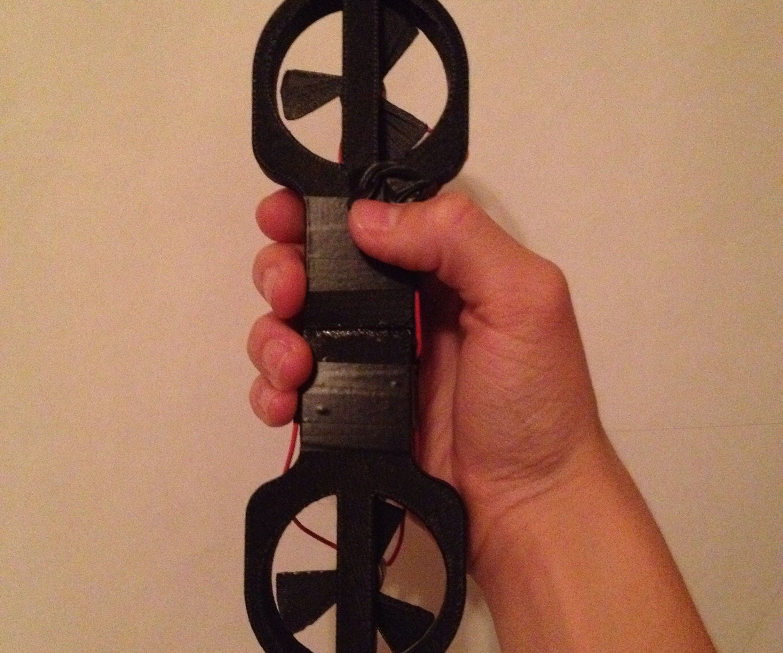3D Printed Dual-Fan