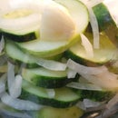 Refrigerator Pickles-First Attempt
