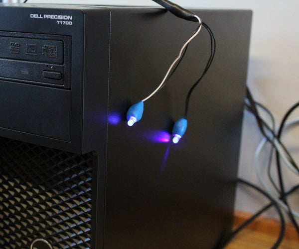 Turn an Old Mouse Into a USB-powered LED Desk Light
