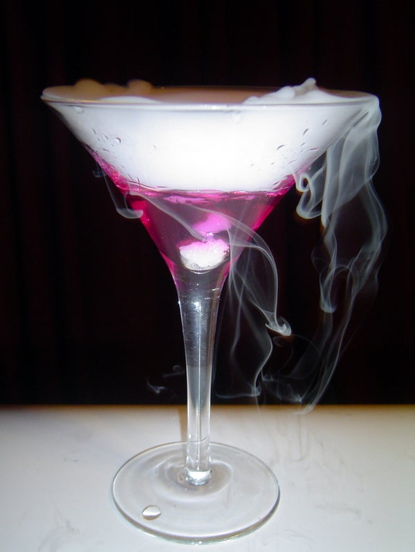 The Color-Changing Martini