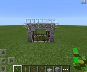 Minecraft Gardening Tent.