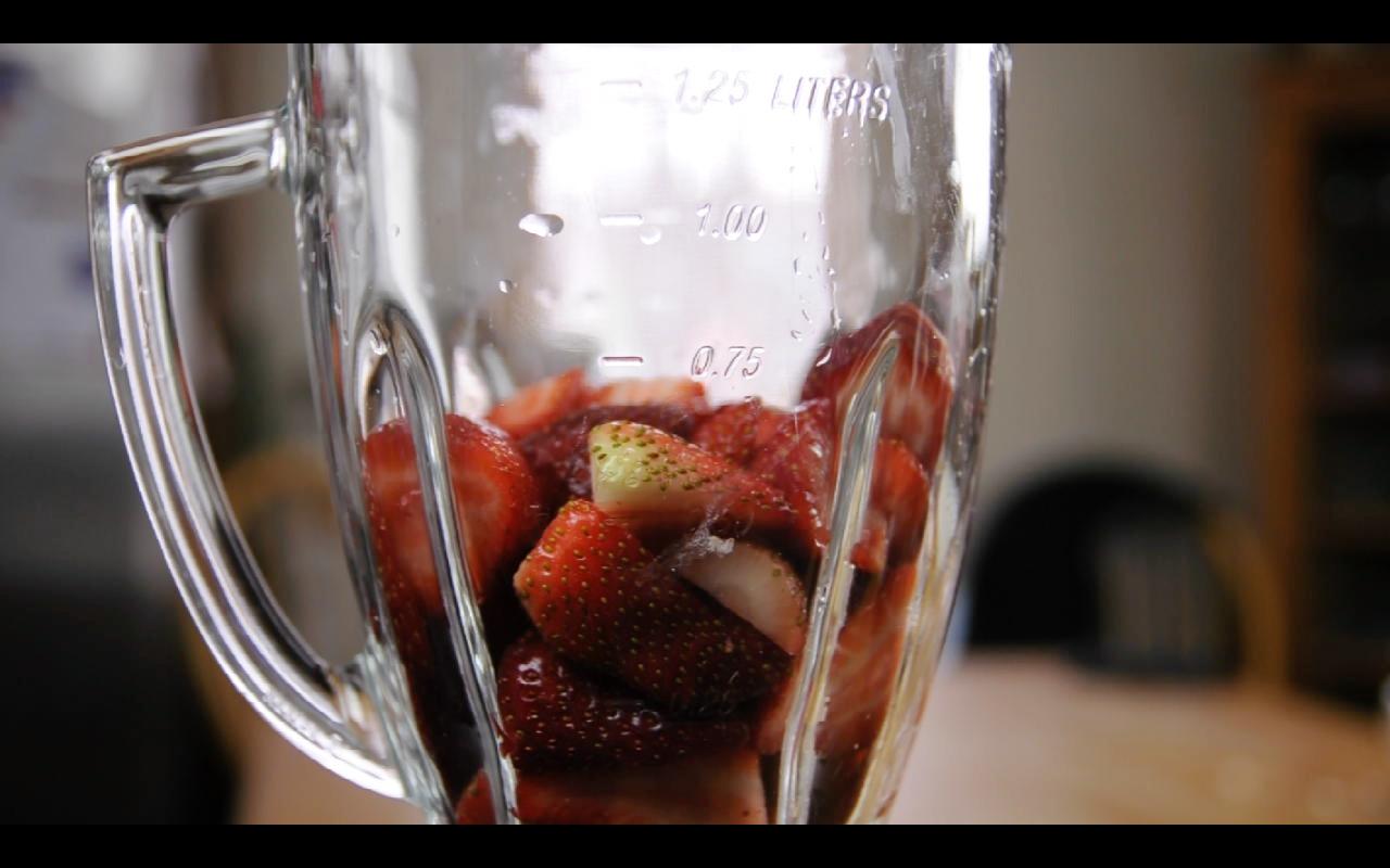 How To Make Strawberry Almond Milk