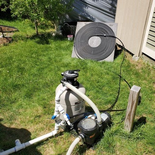 DIY Solar Pool Heater