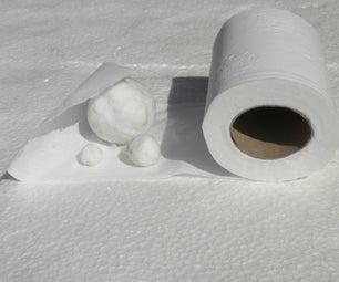Toilet Paper Balls