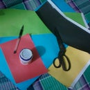 how to make...............wall art with papers