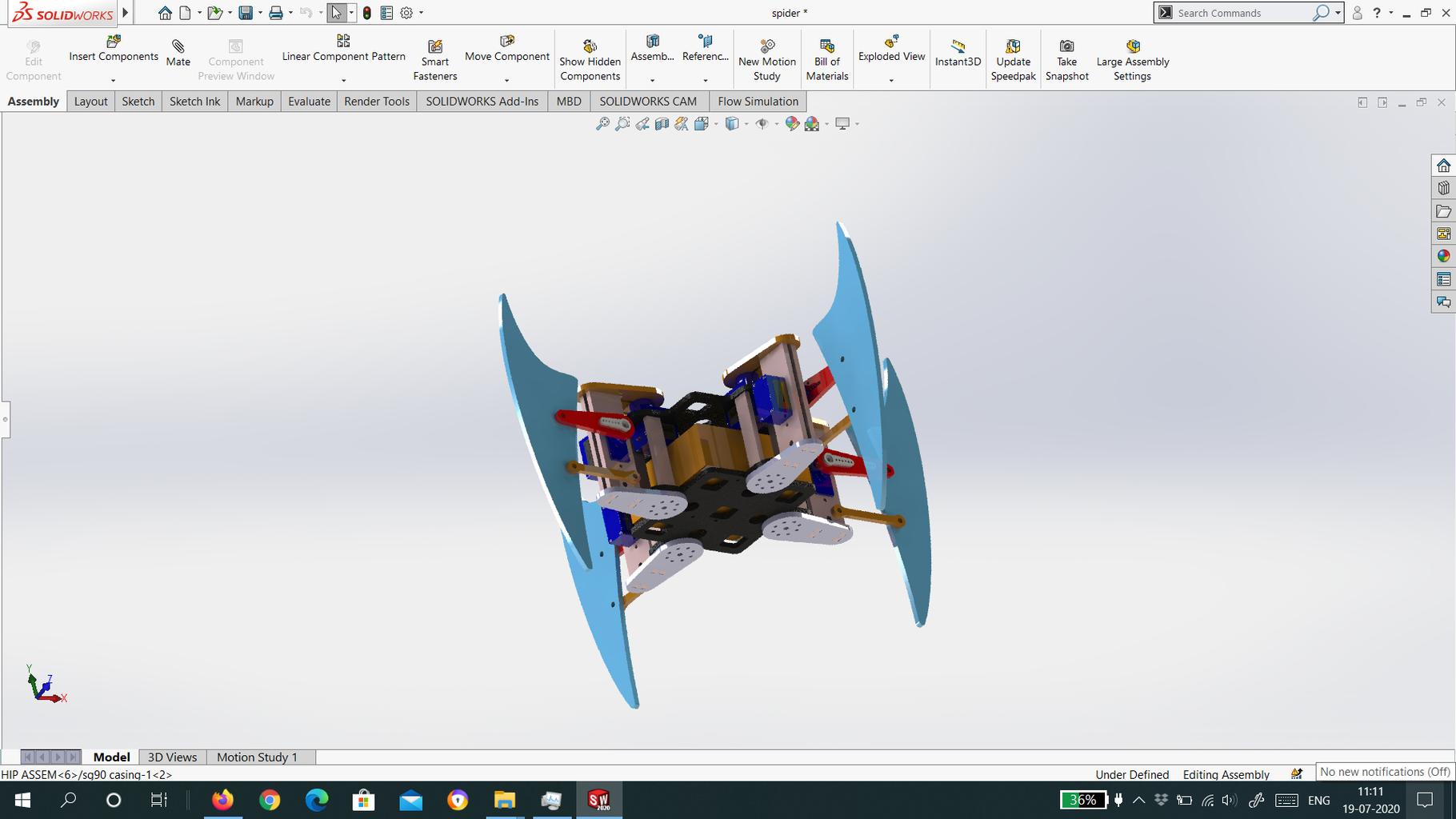 Assembling the Laser Cut Body: