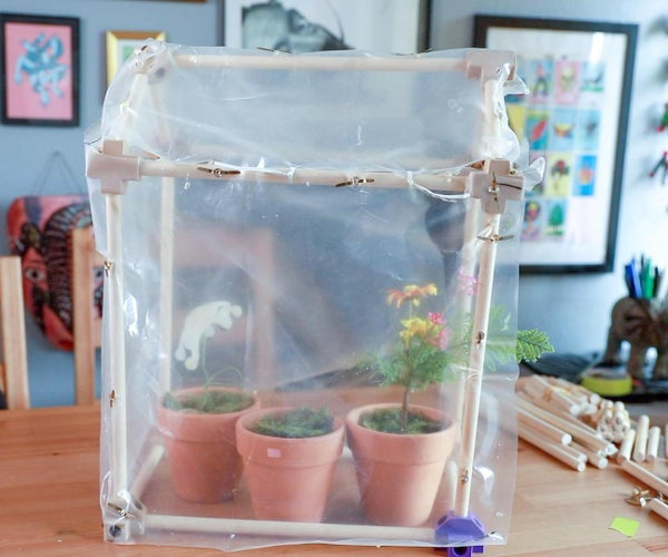 Design and Build a Customizable Tabletop Greenhouse
