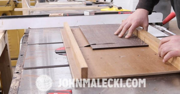 Rough Cut Shelf & Drawer Fronts