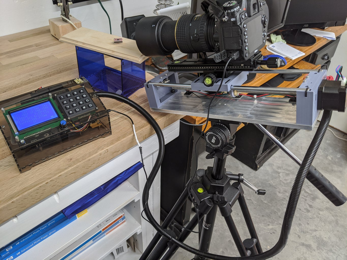 Easy Build Focus Stacking Rig