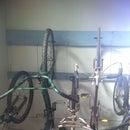 Easy bike storage