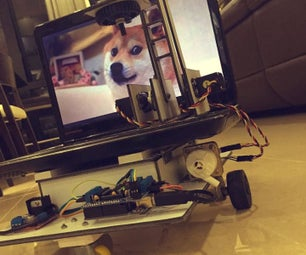 Internet Controlled Telepresence Robot