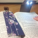 Foldable Electronic Bookmark / Booklight