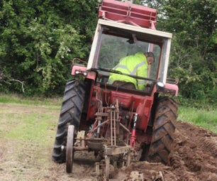 How to Plough or Plow a Field - Basic Instructions