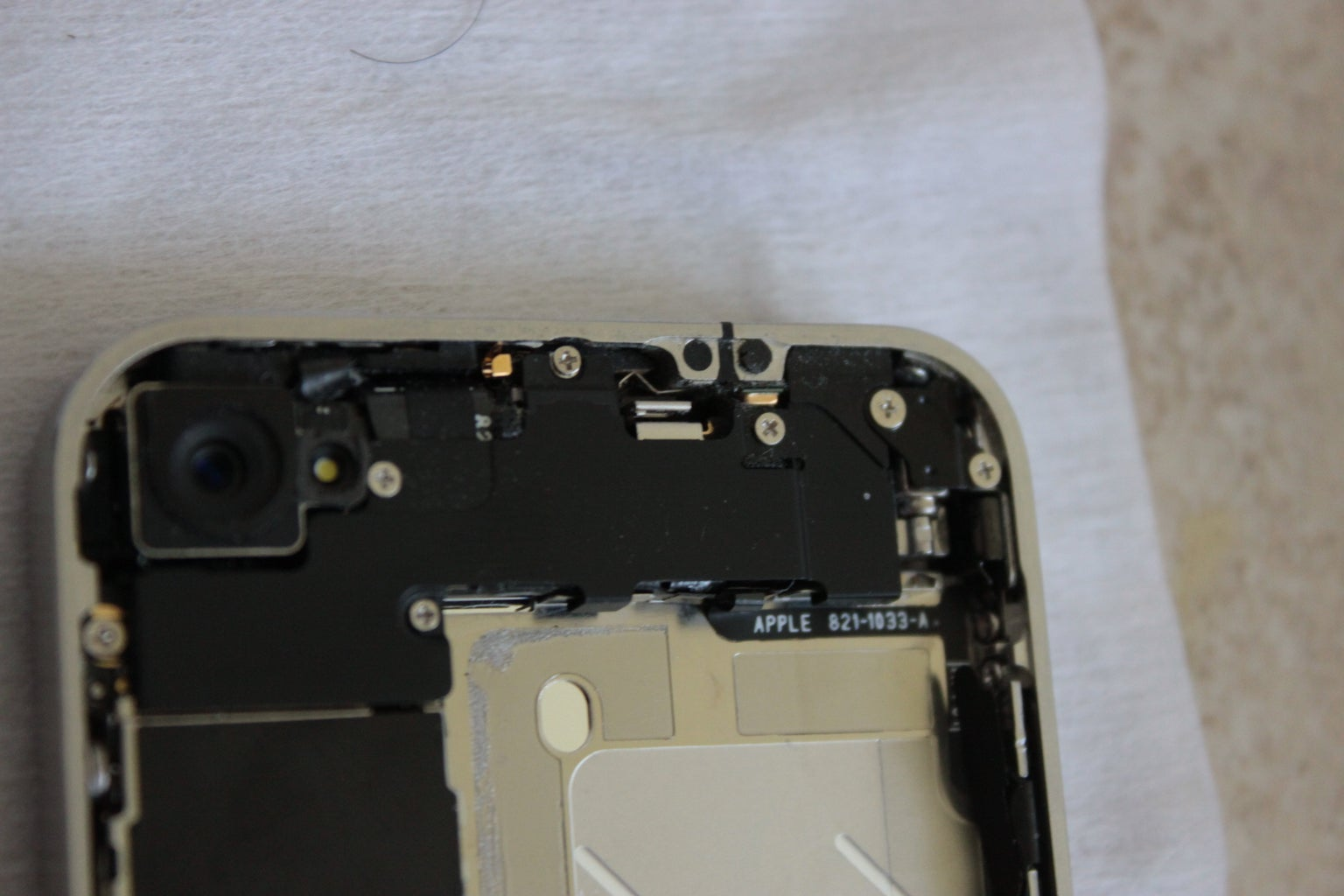 Removing Protection Plate 1