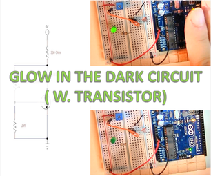 Glow in the Dark Circuit (super Sensitive)