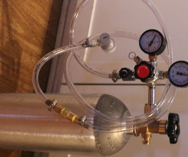 Home Carbonation System for Water, Beer, and More