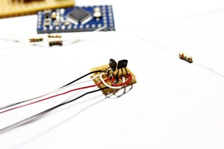 Prepare SS495a Hall Sensor Module