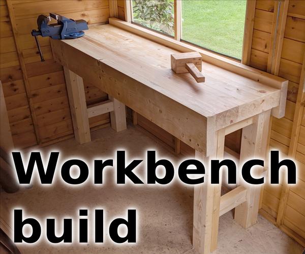 Simple Wood Workbench
