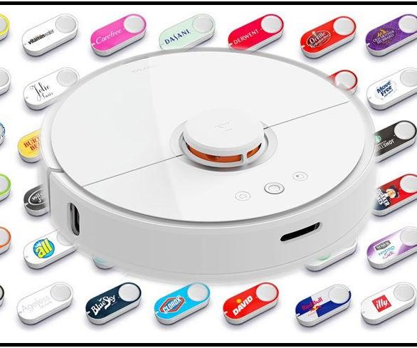 XiaoMi Vacuum + Amazon Button = Dash Cleaning