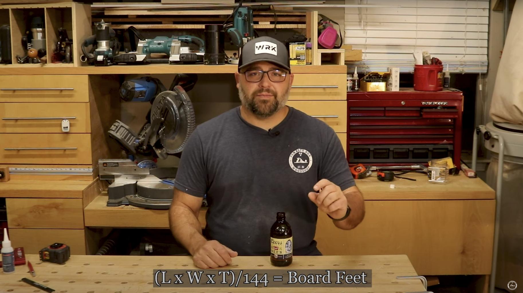 Tip #7 - Determining Board Feet