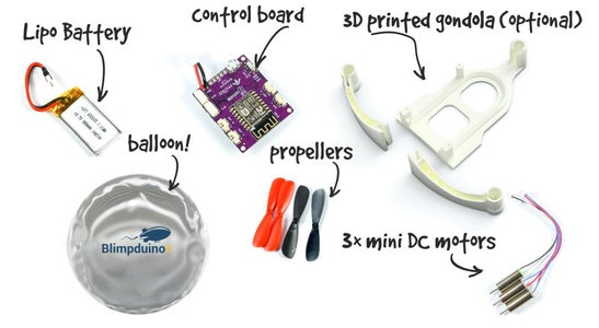 What You Need to Create Your Blimpduino