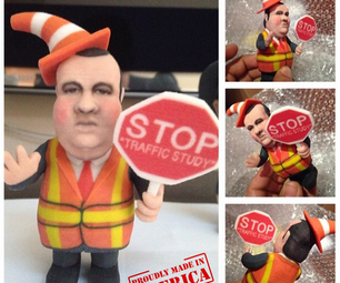 How to Publicly Ridicule Chris Christie With a 3d Printed Action Figure