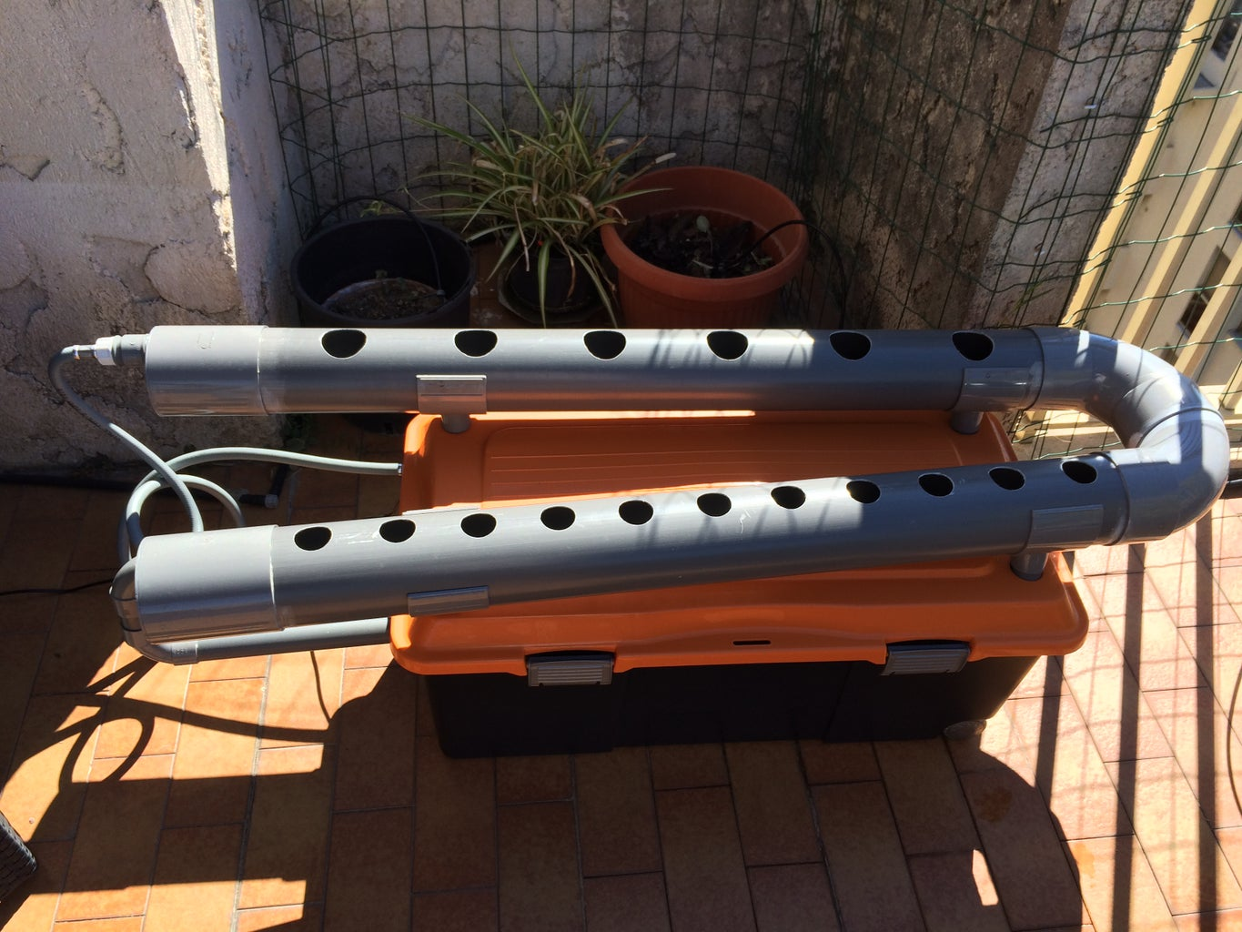 Quick NFT Hydroponic System