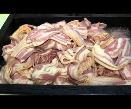 Cooking 36 Lbs of Bacon