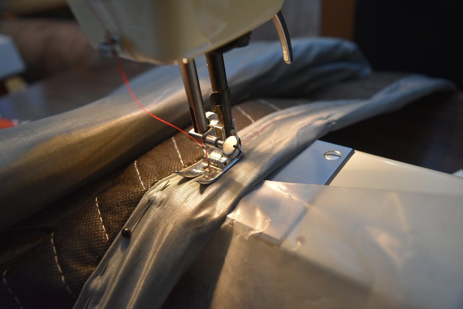 Step 4: Stitch/ Sew