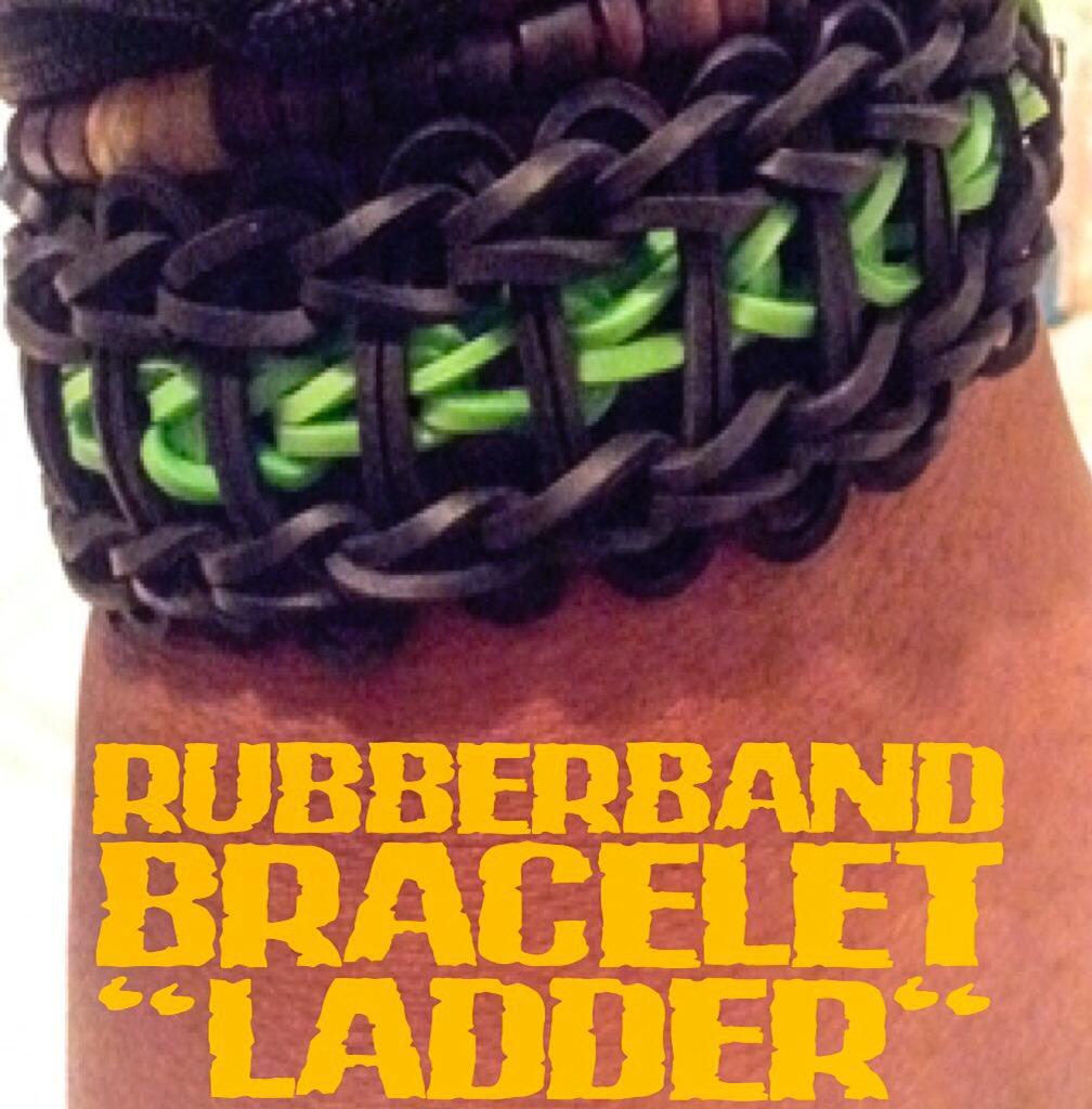 "Rubberband Bracelet ""Ladder"""