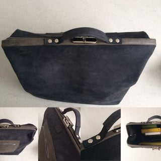 Leather MD Briefcase (Doctor's Bag)