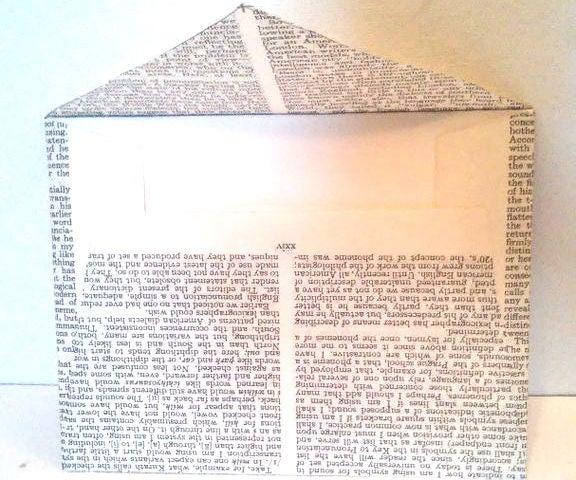 DIY Dictionary Envolopes