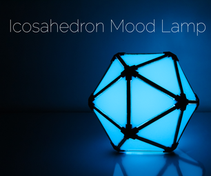 RGB Icosahedron Mood Lamp