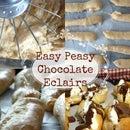Easy Peasy Chocolate Éclairs