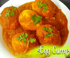 Dhaba Style Egg Curry