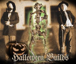 DIY Halloween Skeleton Droid / Dummy